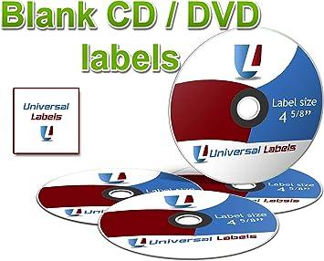 Amazon.com: 1000 Etiquetas universales (® CD/DVD Labels ...