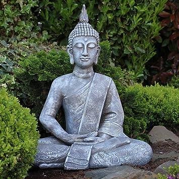steinfigur buddha garten bestseller shop. Black Bedroom Furniture Sets. Home Design Ideas