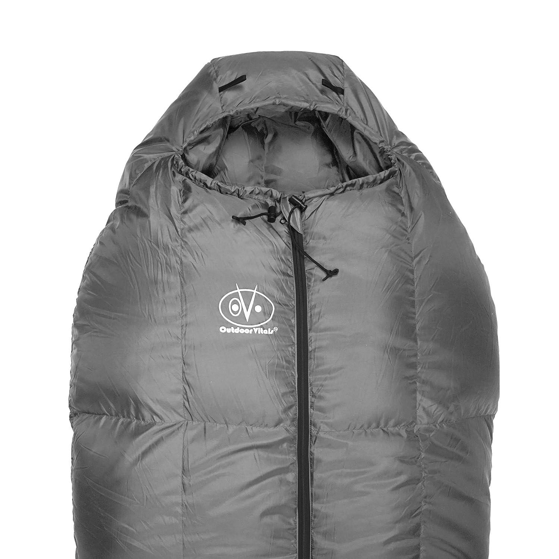 Outdoor Vitals 0-15 Degree F StormLOFT Down MummyPod Sleeping Bag