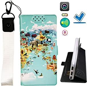 HYJPT Case for Htc Desire 728g Cover Flip PU Leather + Silicone case Fixed DT
