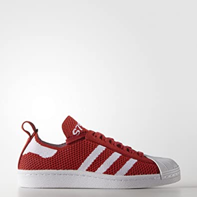 Adidas Originals Women's Superstar 80s Primeknit Shoes S75427,9