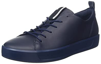 Ecco Soft 8 Men's, Sneakers Basses Homme, Bleu (Night Sky), 46 EU