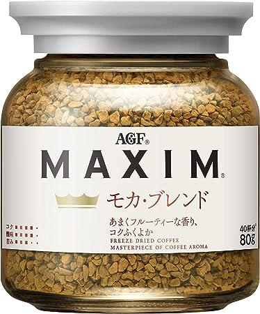 AGFマキシムモカブレンド瓶80g【インスタントコーヒー】