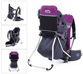 MONTIS Runner One - Mochila portabebés - hasta 25 kg (Violeta): Amazon.es: Deportes y aire libre