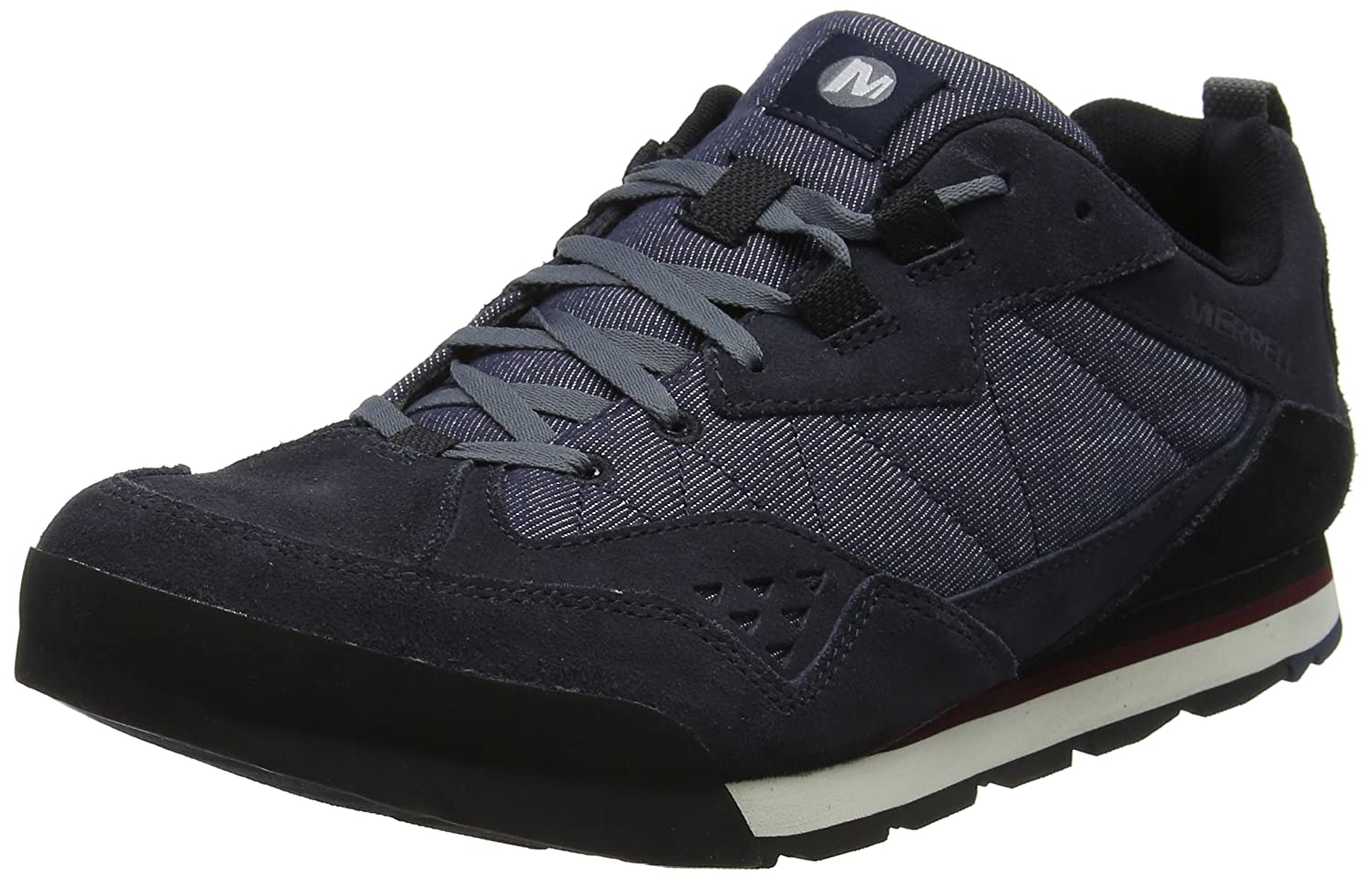 TALLA 47 EU. Merrell Burnt Rock Tura Denim Low, Zapatillas para Hombre