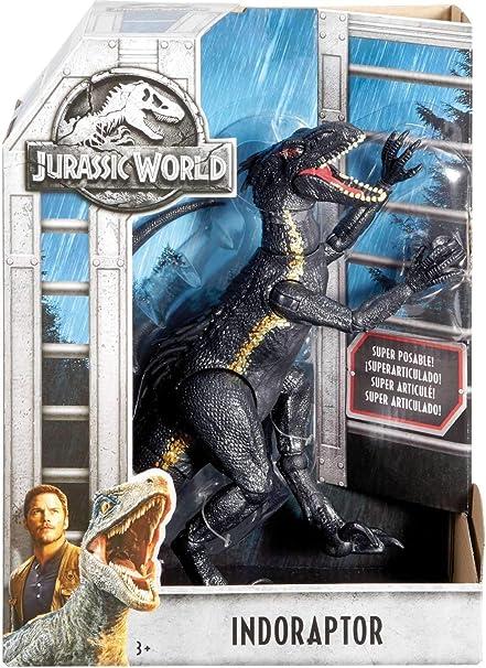 """Jurassic World Dino Rivals 10/"""" Indoraptor Dinosaur Toy w// Collector/'s Card"""