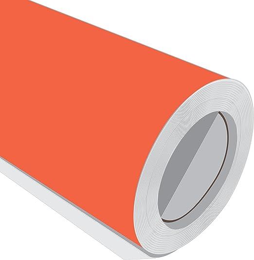 2 Metre (2 m) rollo de HD, color rojo mate 610 mm de ancho Vinilo autoadhesivo: Amazon.es: Hogar