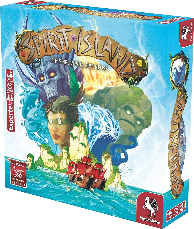 Pegasus Spiele 51896G Spirit Island - Juego de Mesa (edición Alemana): Amazon.es: Juguetes y juegos