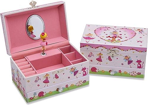 Lucy Locket Joyero Musical Encantado de Hadas niños - Caja de ...