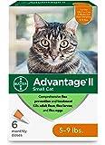 Advantage II Flea Prevention for Small Cats, 5-9 lbs