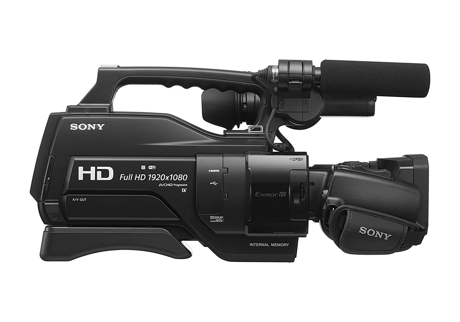 Amazon.com : Sony HXRMC2500 Shoulder Mount AVCHD Camcorder with 3 ...