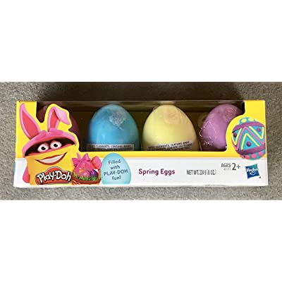 Play-Doh Easter Egg, Pack of 4: Toys & Games