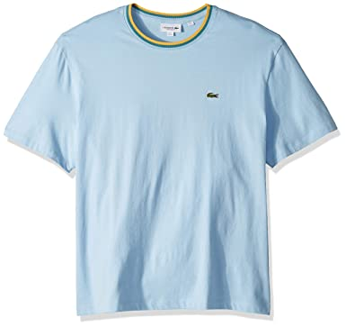 378f7e74 Lacoste Men's S/S Striped Top Jersey T-Shirt | Amazon.com