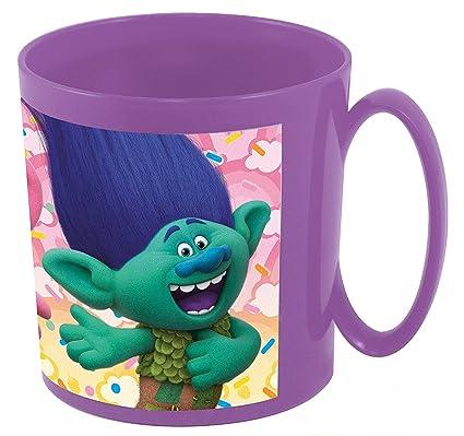 Amazon.com: Trolls Poppy taza microondas: Toys & Games