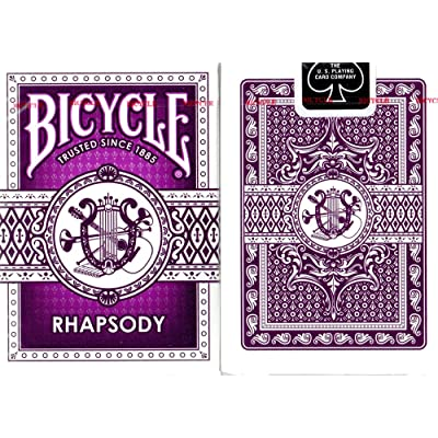 Bicycle Purple Rhapsody Playing Cards: Sports & Outdoors