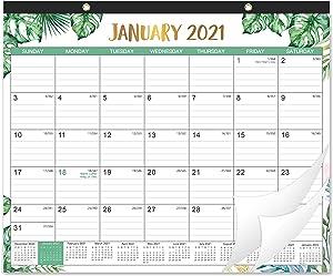 2021 Desk Calendar - Yearly Desk/Wall Calendar, 12 Months Small Desk Calendar, 14.75