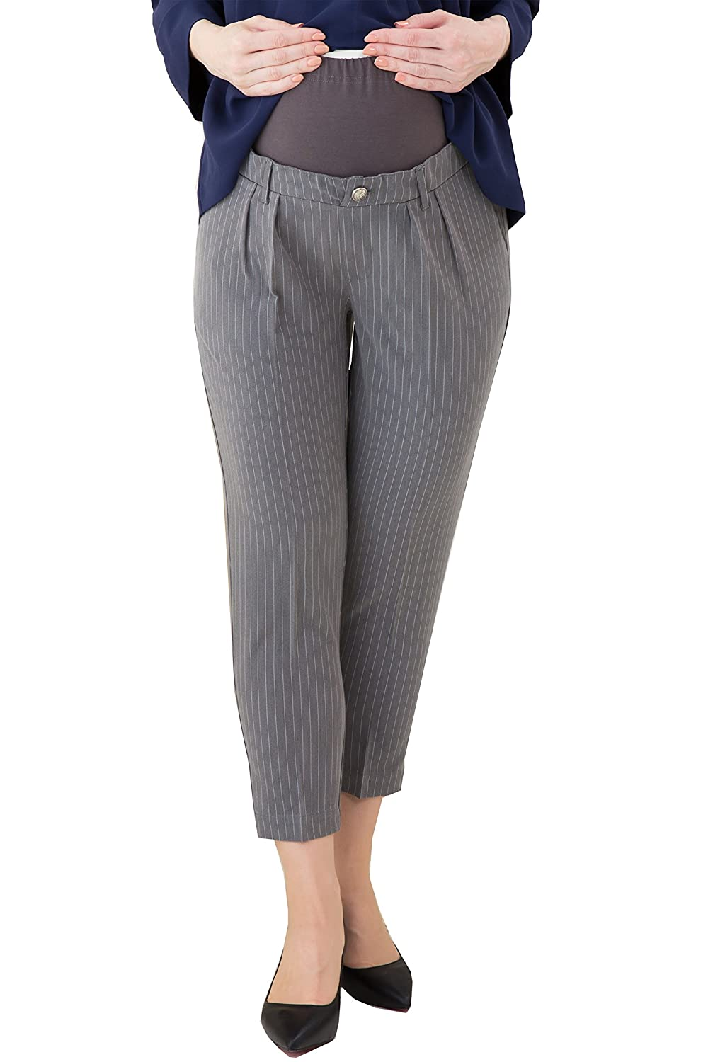 Sweet Mommy Belly Band Maternity Tapered Pants Sweet Mommy Co. Ltd kp5017