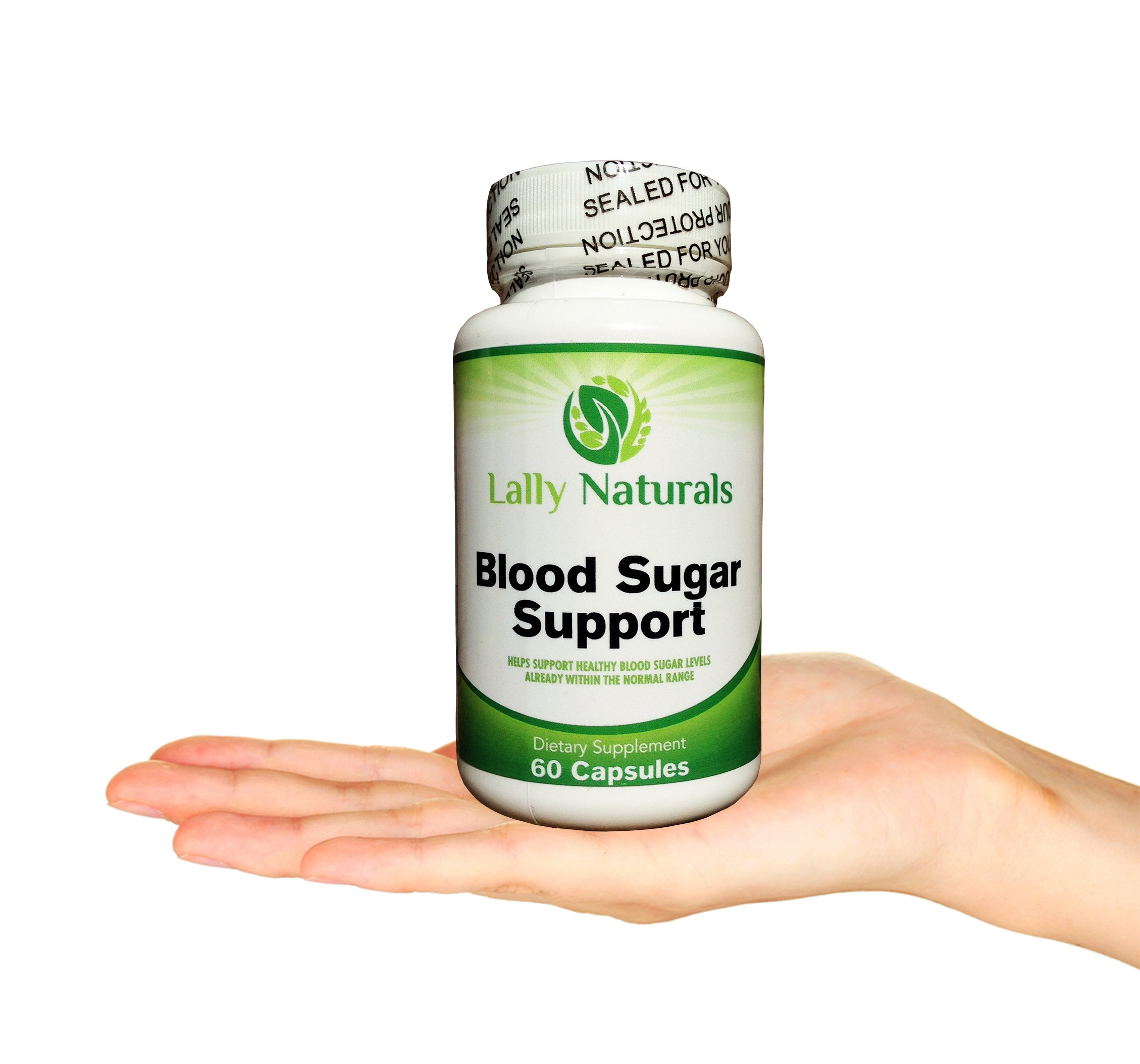Blood Sugar Support (60 Capsules) - Promotes blood glucose control & healthy blood sugar levels Helps Weight Loss & Reduces Carb Absorption 20 Synergistic Natural herbs including Cinnamon & Chromium