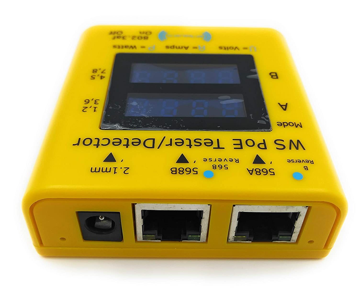 Inline Power over Ethernet Voltage and Current Tester POE TESTER DETECTOR GEN2