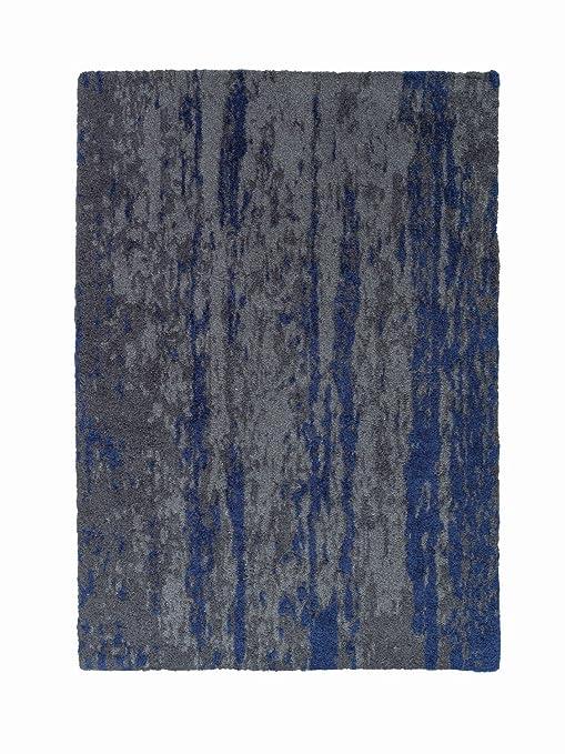 Schöner Wohnen Impression Teppich 120x180 Grau Blau Amazonde