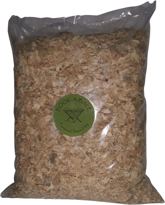 Book-A-Bale Virutas de madera sostenible (1 kg) sin adornos