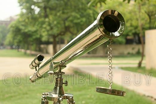 Bilderrahmen vintage teleskop stativ aus holz amazon kamera
