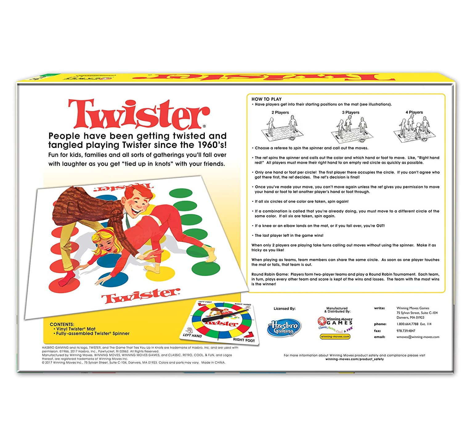 graphic about Twister Spinner Printable titled Profitable Moves Game titles Clic Twister