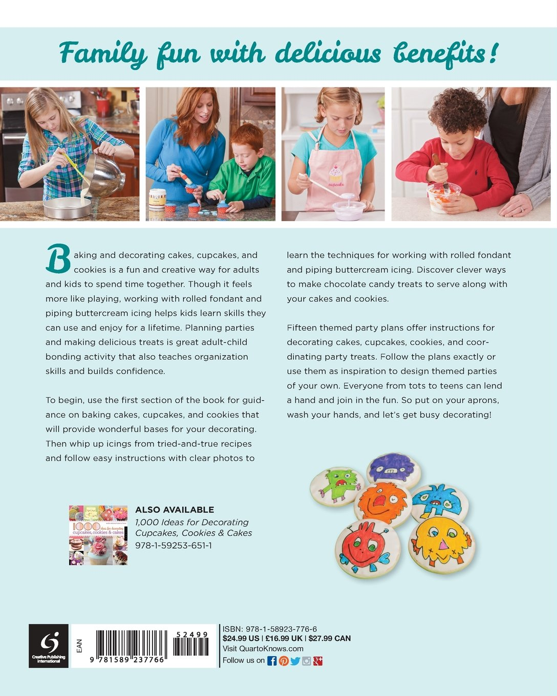Decorate Cakes, Cupcakes, and Cookies with Kids: Techniques ...