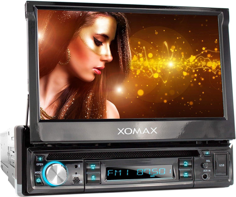 XOMAX XM-D749 Radio de Coche con Pantalla táctil de 18 cm / 7