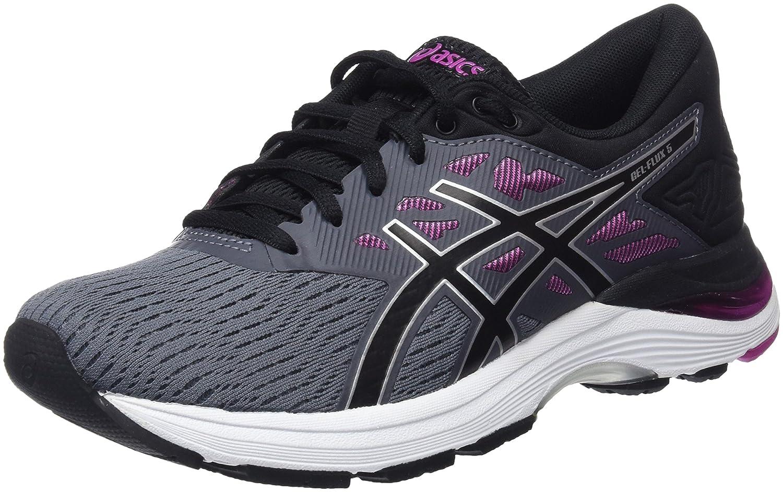 MultiCouleure (Carbonnoirfuchsia rouge) ASICS Gel-Flux 5, Chaussures de Running Femme 39 EU