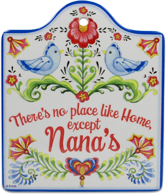 Essence of Europe Gifts E.H.G No Place Like Home Except Nana's Decorative Trivet