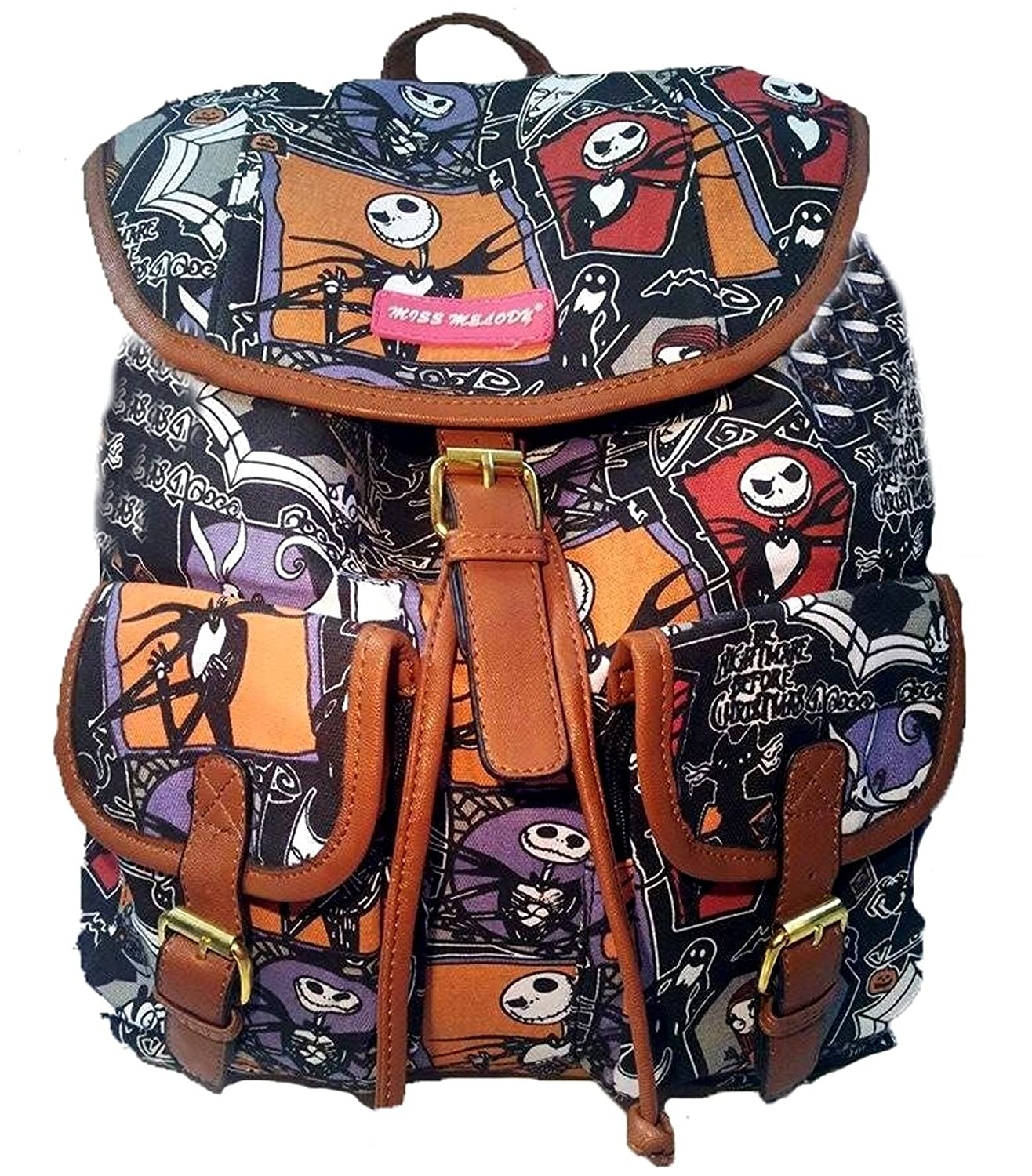 Nightmare Before Christmas Backpack Jack Skellington Rucksack ...