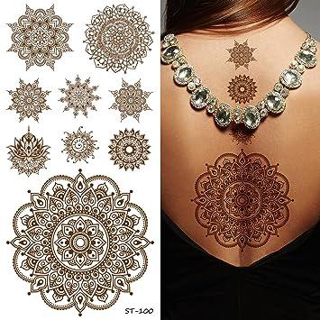 Amazon supperb temporary tattoos inspired mandala henna supperb temporary tattoos inspired mandala henna healing yoga meditation tattoo thecheapjerseys Choice Image