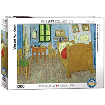 Buy EuroGraphics Bedroom at Arles by Vincent Van Gogh (1000 ...
