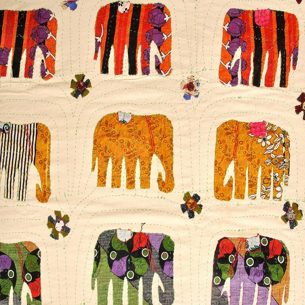 Eminent Craft - Bed Spread - Amarosi - Handmade - Cotton - 90' X 60'