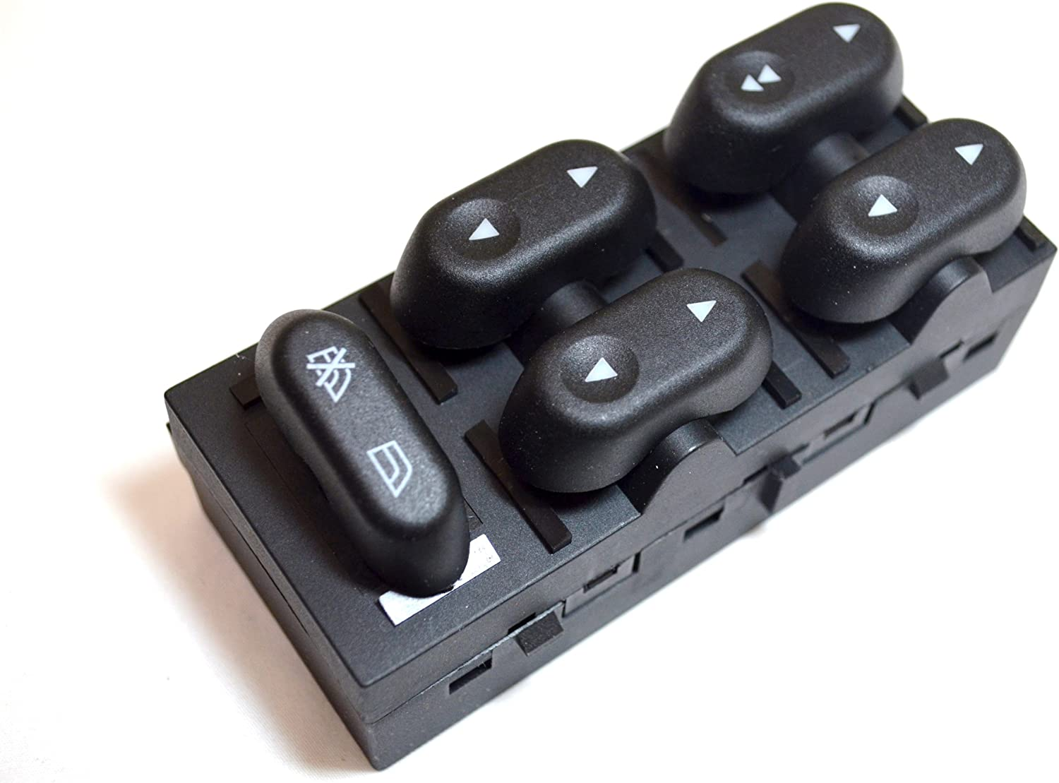 Master Power Window Switch PT Auto Warehouse PWS-323 Driver Side Front 5-Button Switch