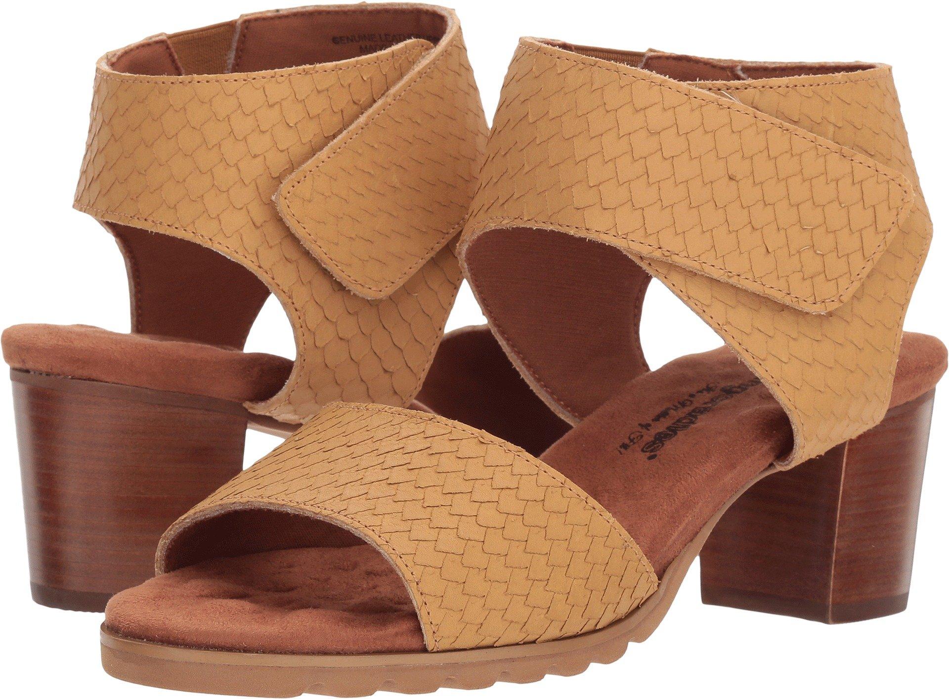 Walking Cradles Women's NOX Camel Cut Snake Leather 8.5 D US
