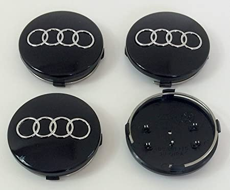 Image of Juego de 4 embellecedores para llantas, de 60 mm, 4B0 601 170, color negro