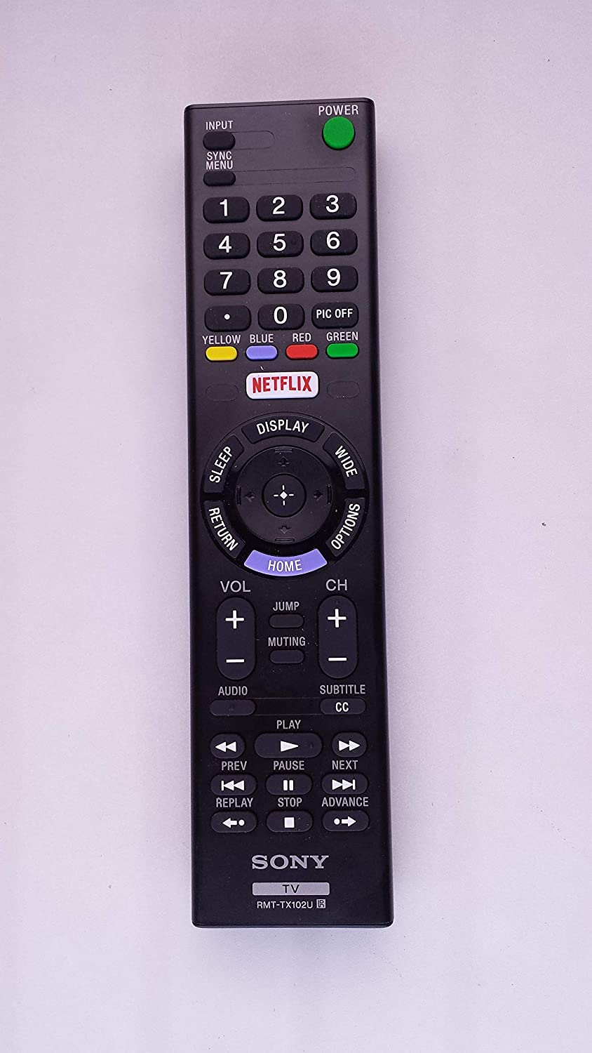 SONY RMT-TX102U TV REMOTE CONTROL