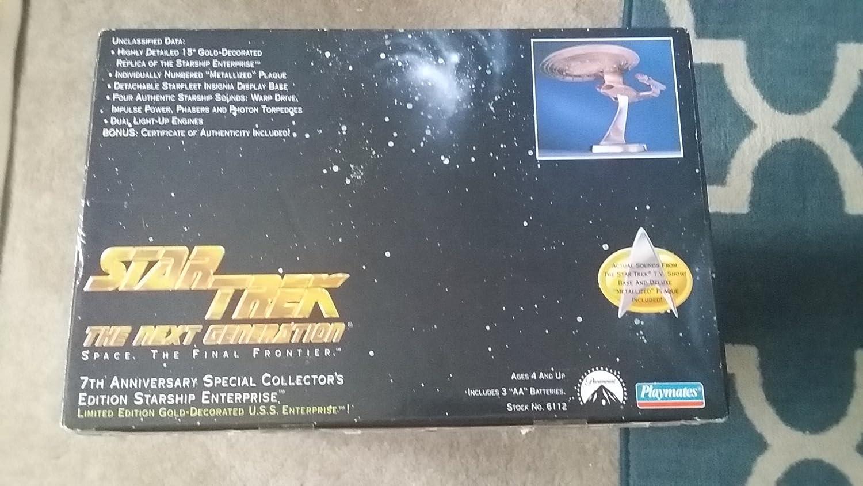 Star Trek Gold Starship USS Enterprise Next Generation