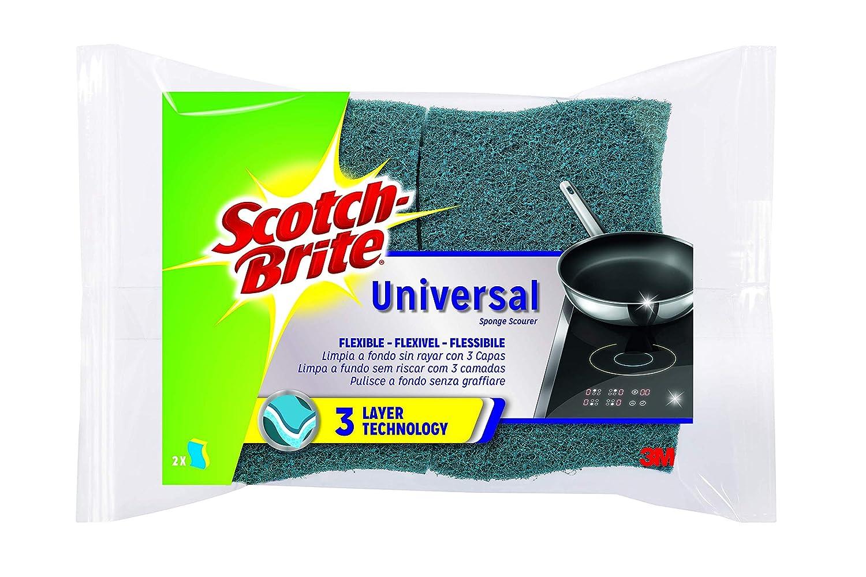 Scotch-Brite Estropajo Laminado XXL Universal con Esponja ...