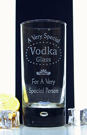 FBA) Gravur Vodka Design Glas – Geschenk Idee für Geburtstag ...