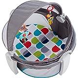 Fisher-Price Elefante y tucán activity, juguete colgante para bebé (Mattel FWX16)
