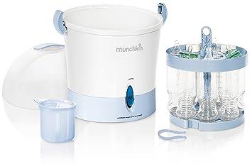 Amazon.com: Munchkin Esterilizador de vapor eléctrico ...
