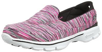 Skechers Performance Womens Go Walk 3 Crazed Walking Shoe