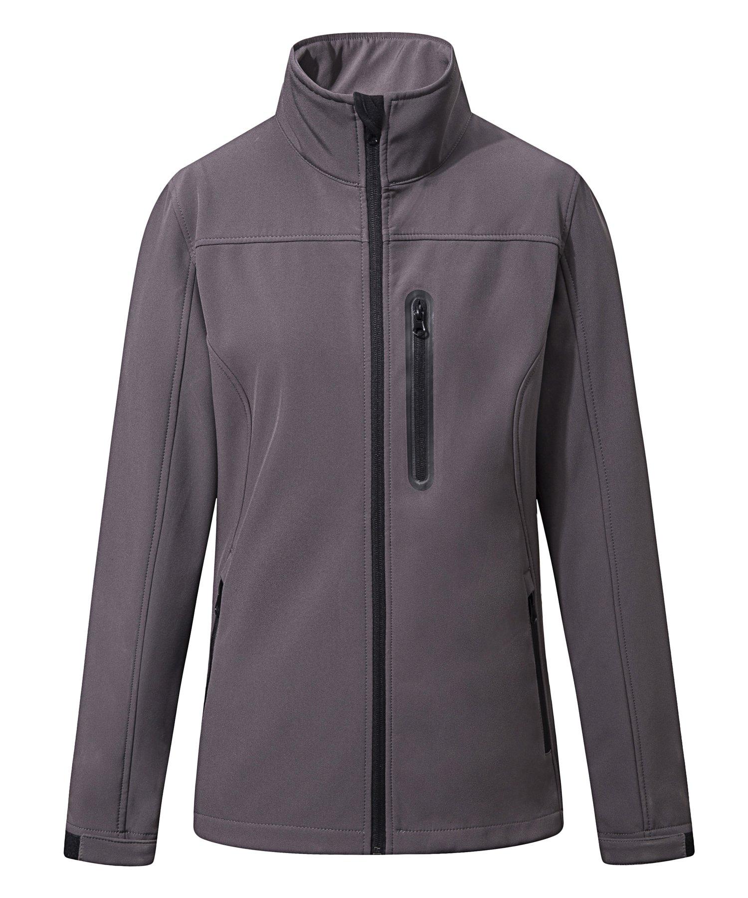 SPECIALMAGIC Women's Waterproof Outdoor Running Biking Jacket Cycling Softshell Grey S