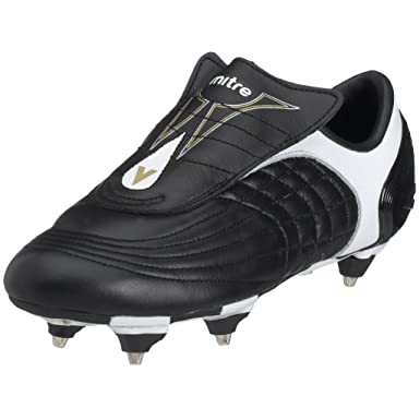 499b25f7f81a Image Unavailable. Image not available for. Colour: Mitre Football Boots -  Black Gold Tempo Size 8