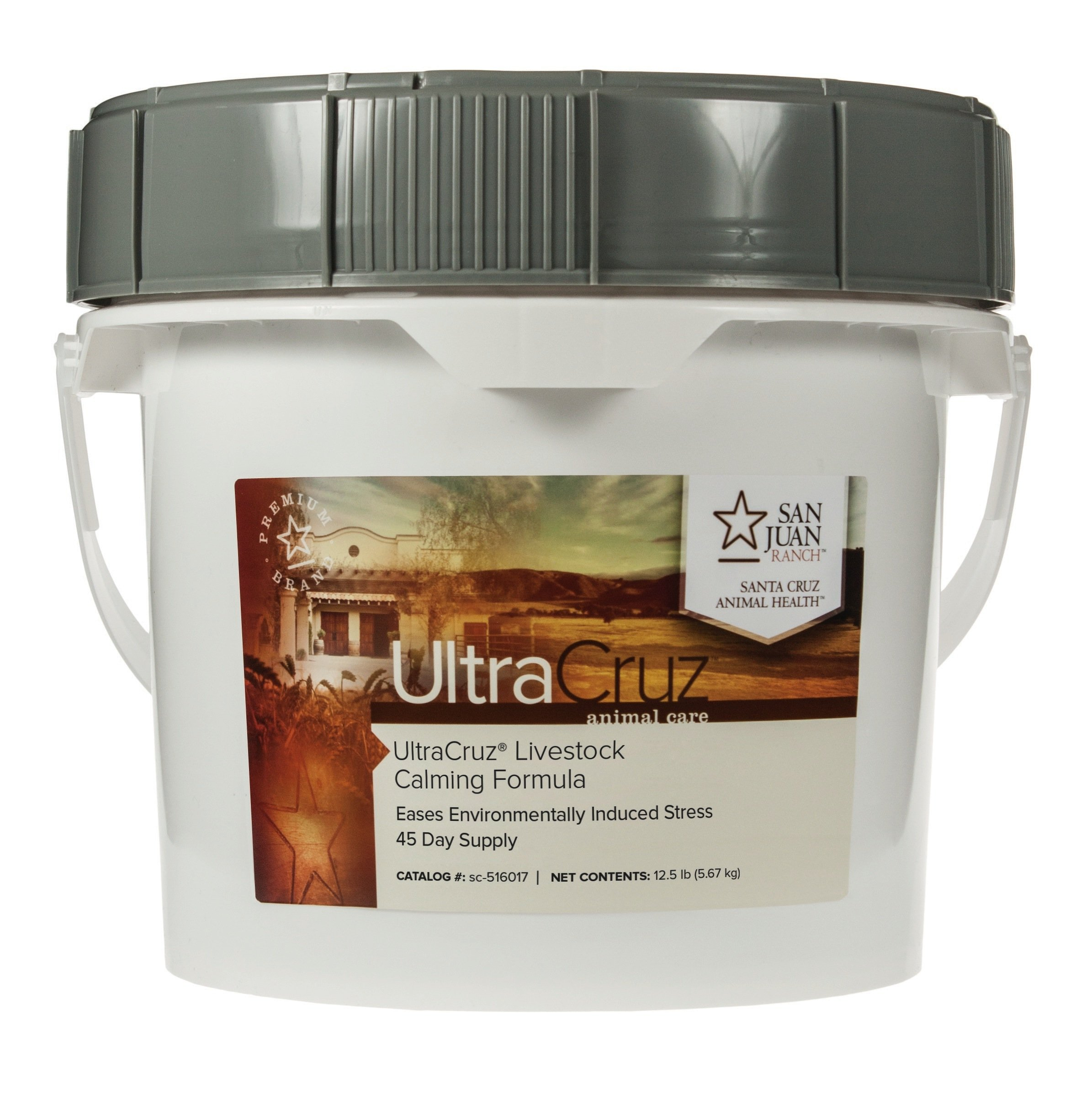 UltraCruz Livestock Calming Formula Supplement, 12 lb, Pellet (45 Day Supply) by UltraCruz