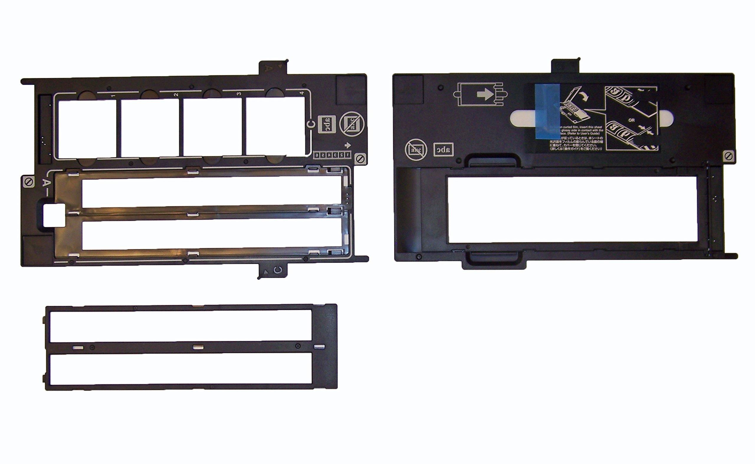Epson Perfection V600 - BUNDLE - 35mm Negative Holder , Slide Holder & 120, 220, 620 Holder - Film Guide by Epson (Image #1)