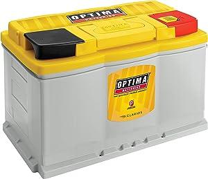 Optima Batteries DH6 YellowTop Dual Purpose Sealed AGM Battery